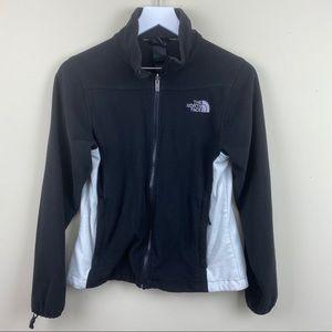 The north face sweater zipper fleece jacket